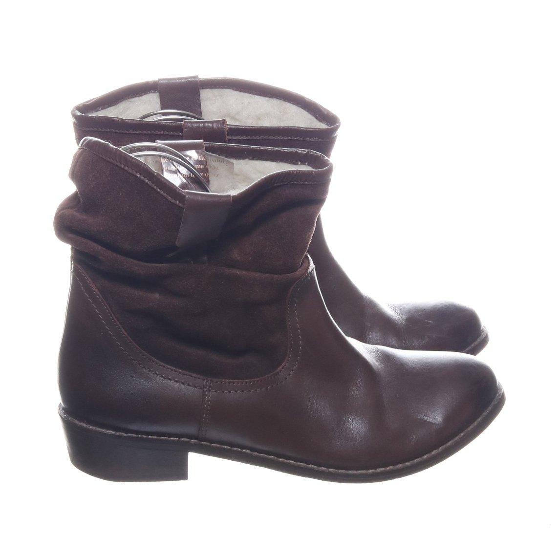 Redfoot, Boots, Strl: 39, Brun, Skinn