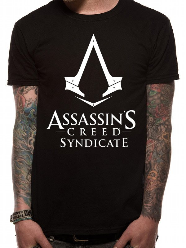 ASSASSINS CREED SYNDICATE - LOGO (UNISEX) - Extra-Large