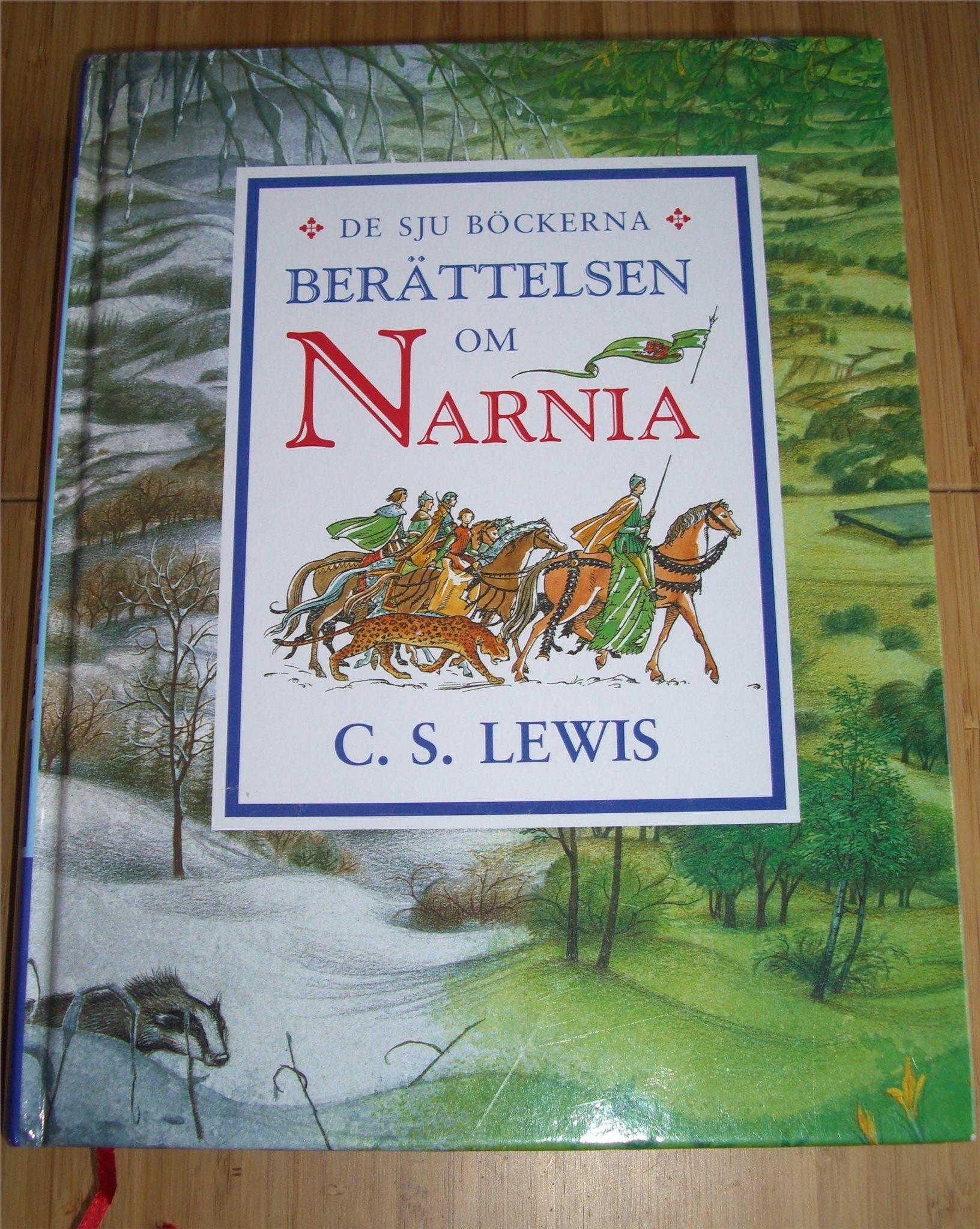 de sju böckerna berättelsen om narnia