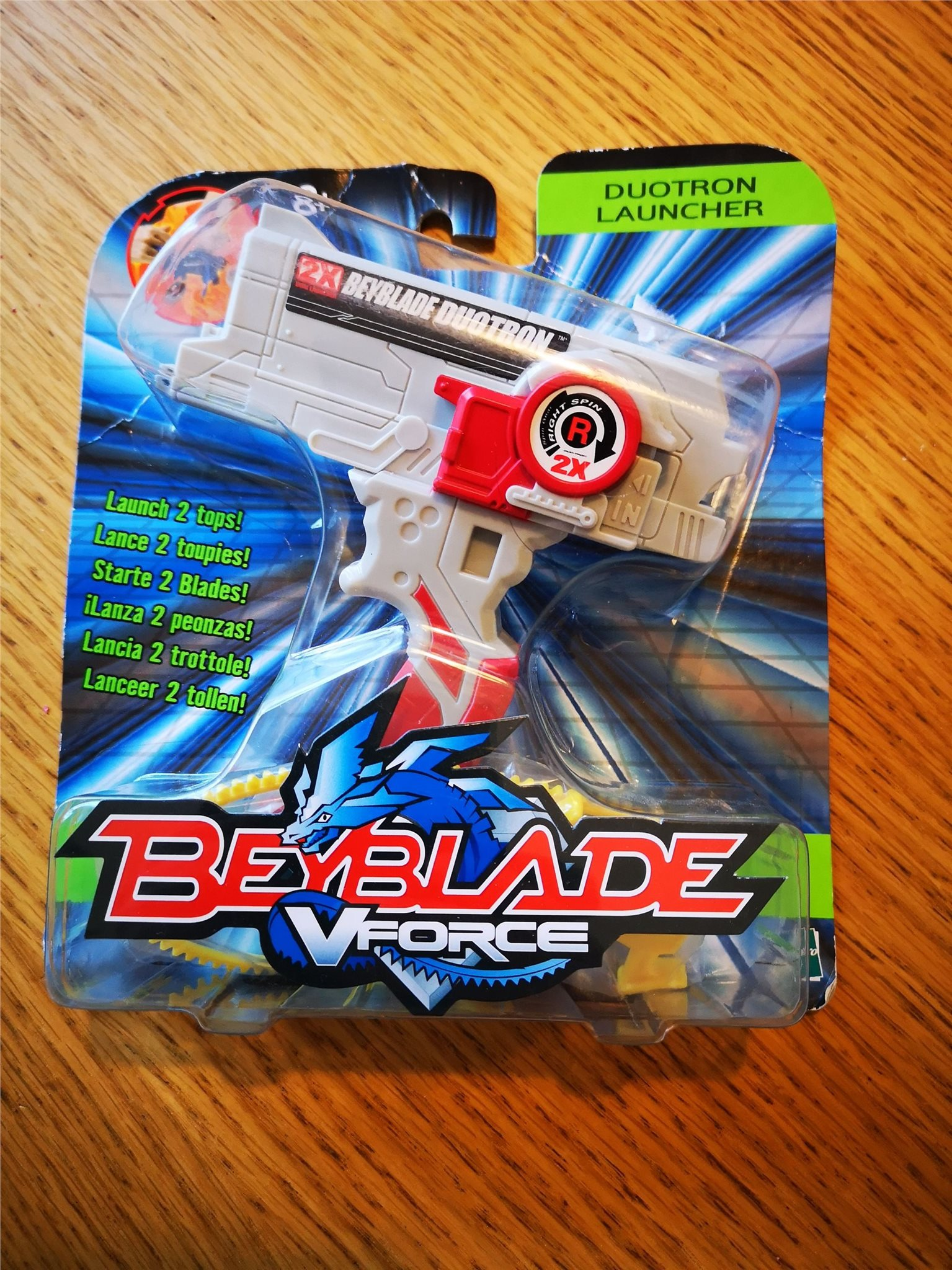 Beyblade V FORCE DUOTRON LAUNCHER