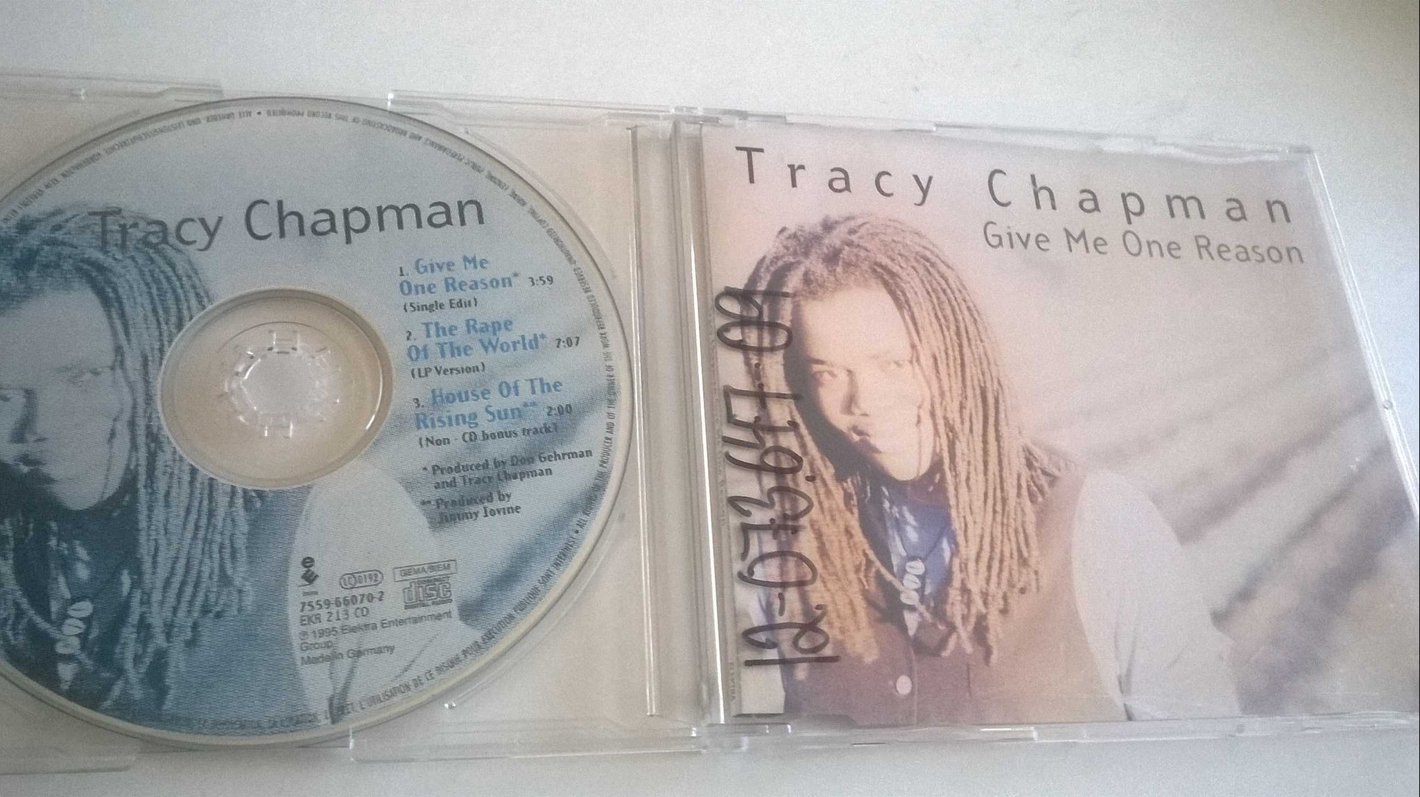 Tracy Chapman - Give Me One Reason, CD, Maxi-Single