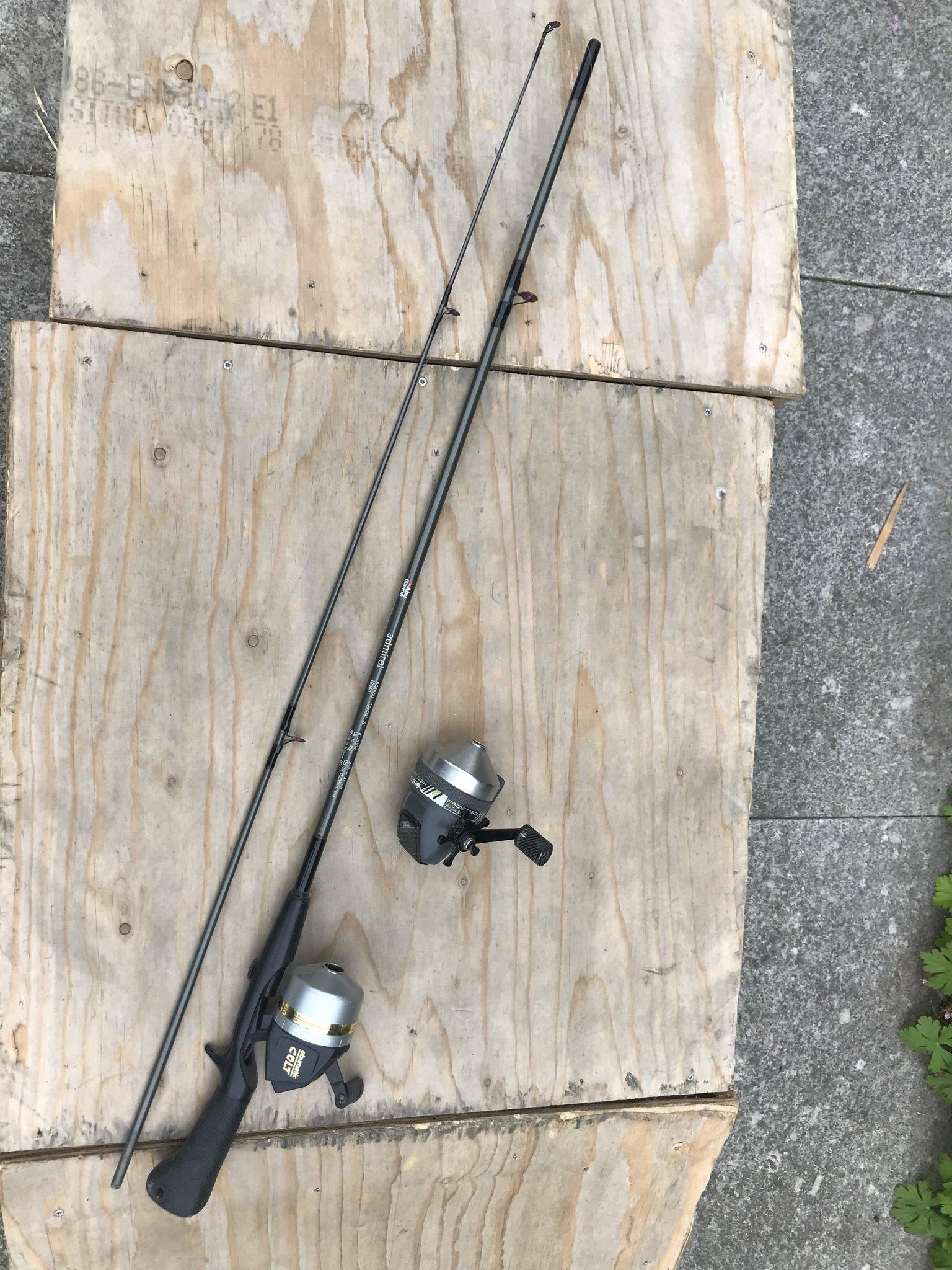 Kanon Spö Kastspö abumatic (356794977) ᐈ Köp på Tradera OW-83
