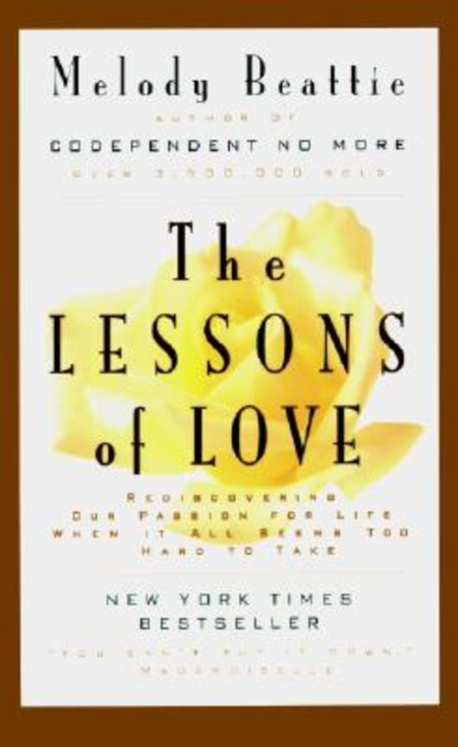 Lessons of Love, The 9780062510785