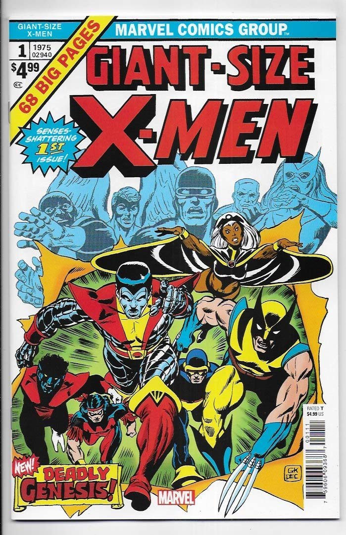 Giant-Size X-Men # 1 Facsimile Edition NM Ny Import 1st New X-Men