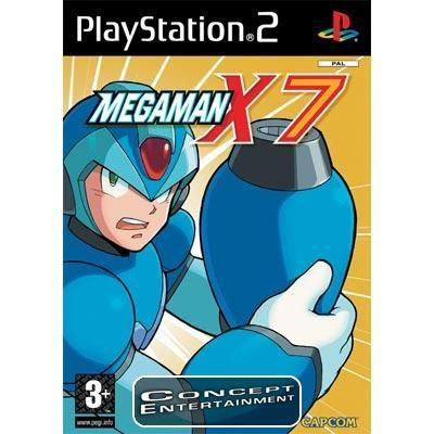 MEGA MAN X7 (komplett) till Sony Playstation 2, PS2