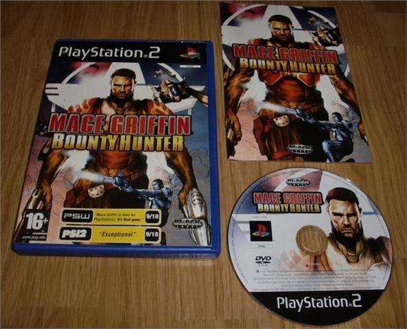 PS2: Mace Griffin Bounty Hunter