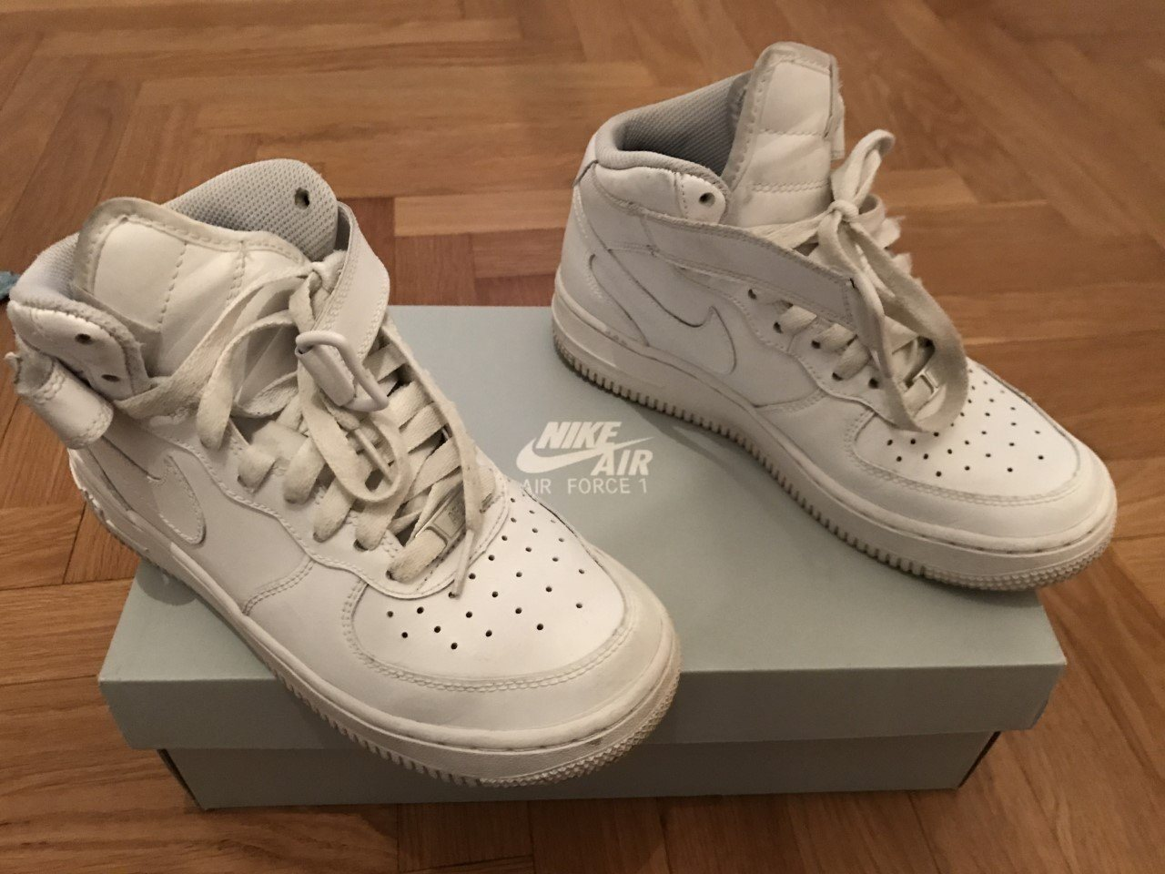 new style cbec2 09a0a Nike Air Force 1 Mid, stl 36,5