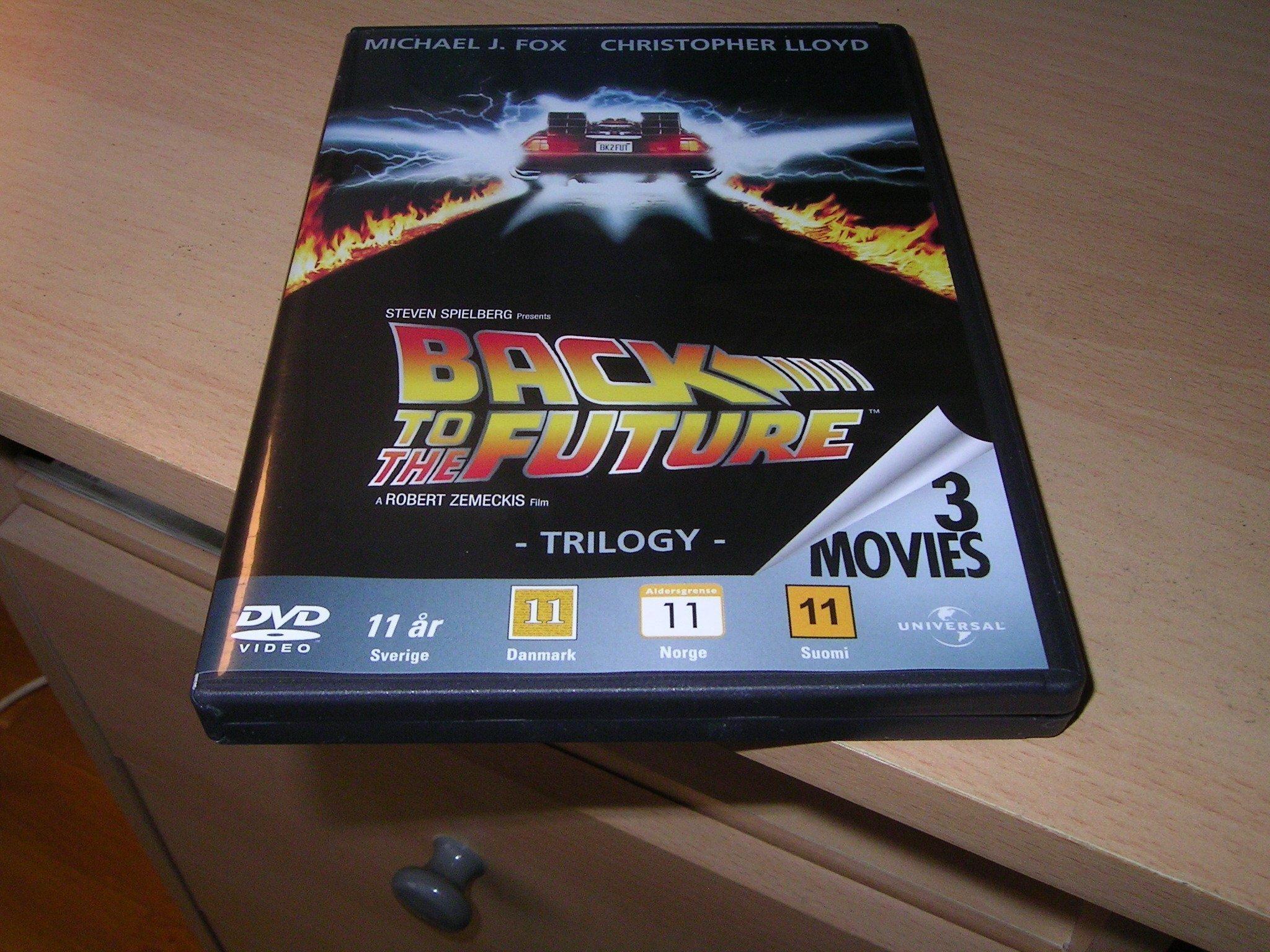 Dvd Box Trilogin Tillbaka Till Framtiden 1 3 356551520