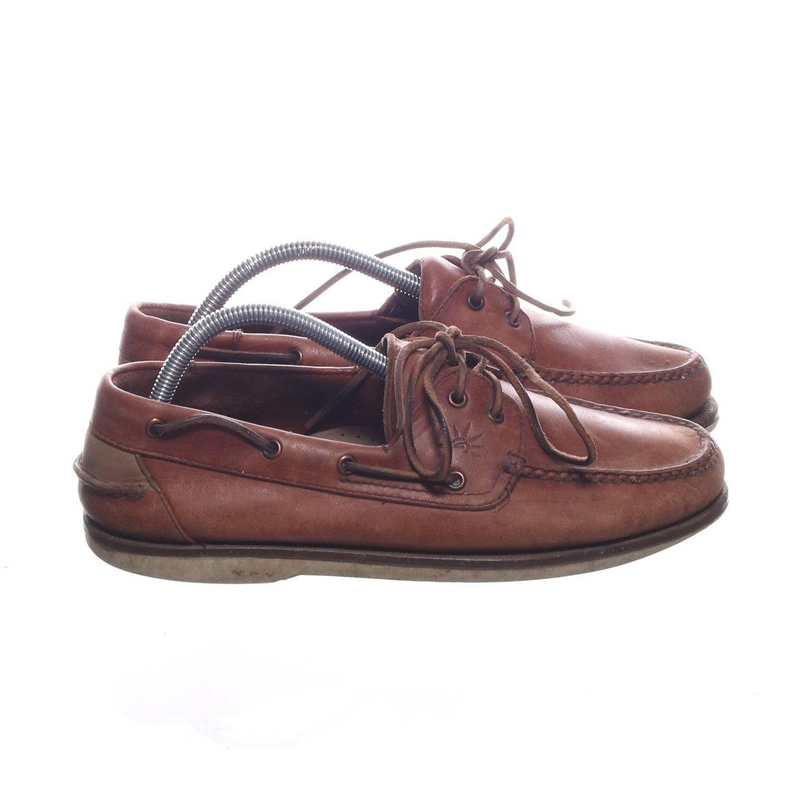 Fifth Avenue Shoe Repair, Loafers, Strl: 41, Skinn, Brun