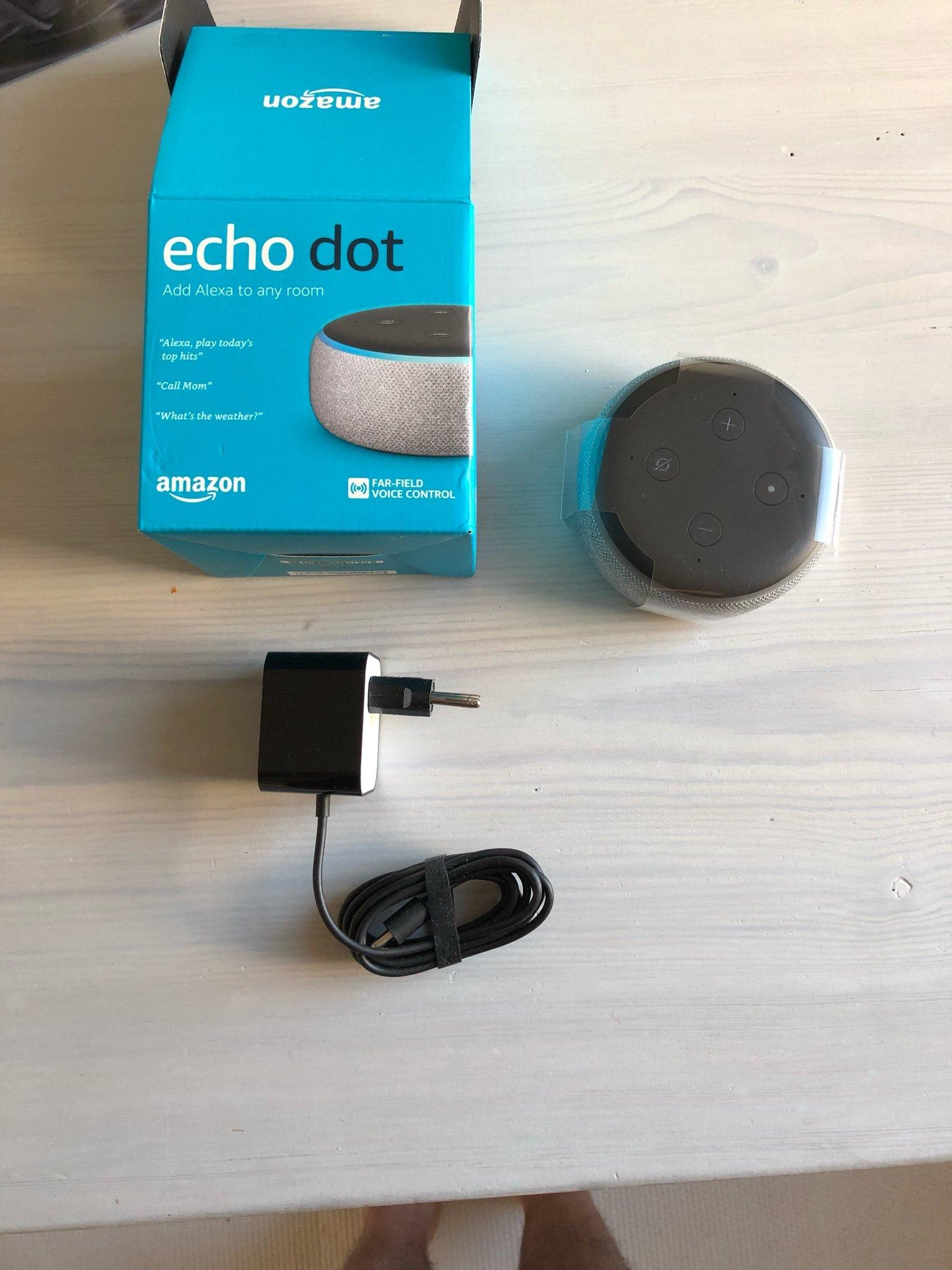 Amazon Echo Dot Gen 3 NY/OANVÄND - Alexa (352745037) ᐈ Köp