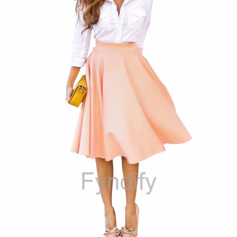high waist kjol