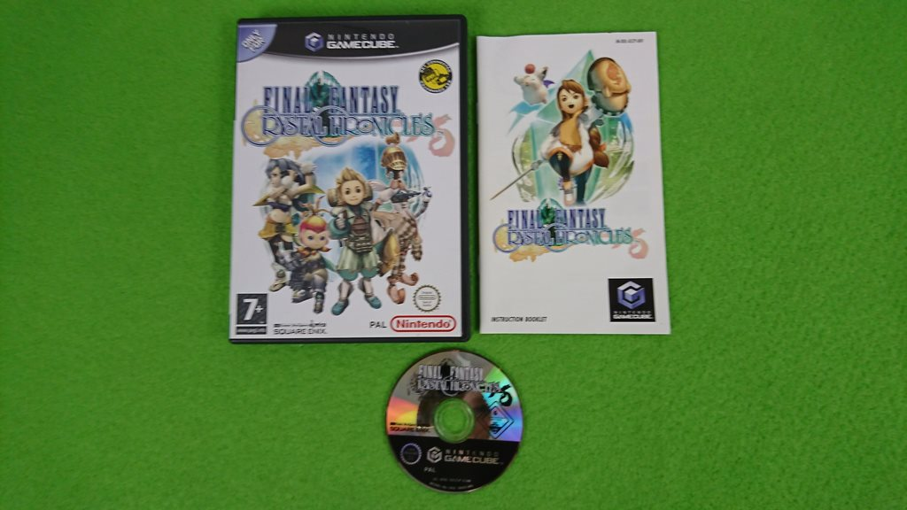 Final Fantasy Crystal Chronicles KOMPLETT Gamecube Nintendo Game Cube