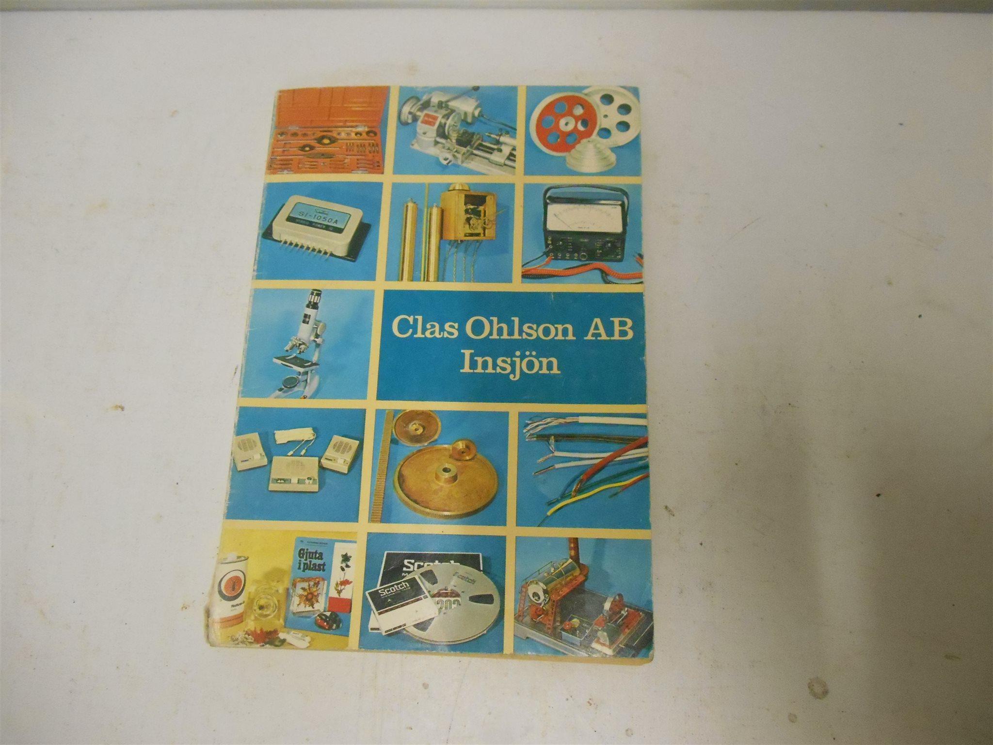 Liten Kastrull Clas Ohlson ~ Clas Ohlson AB 1970 71 på Tradera com Priskuranter och kataloger