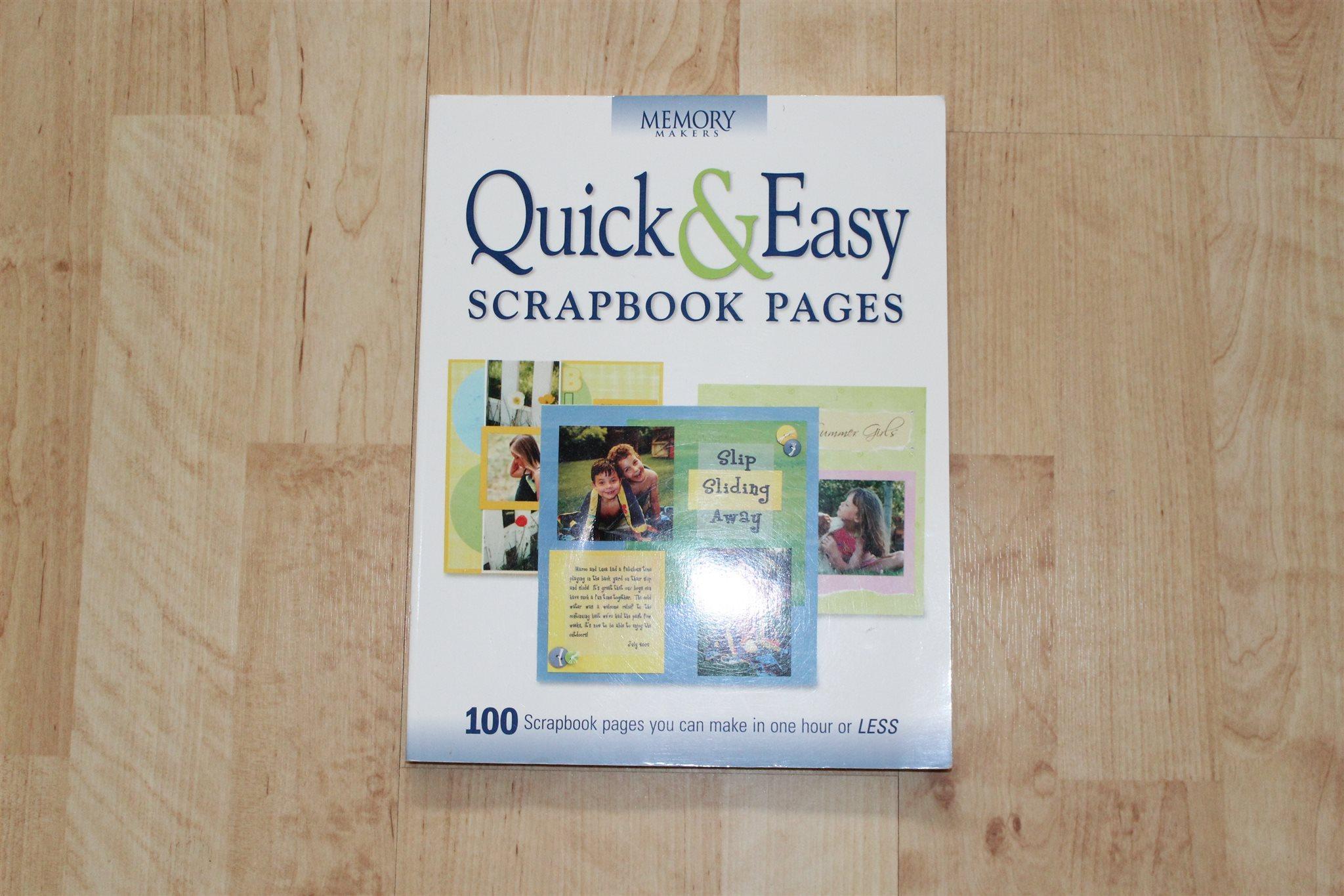 Quick easy scrapbook ideas - Quick Easy Scrapbook Pages