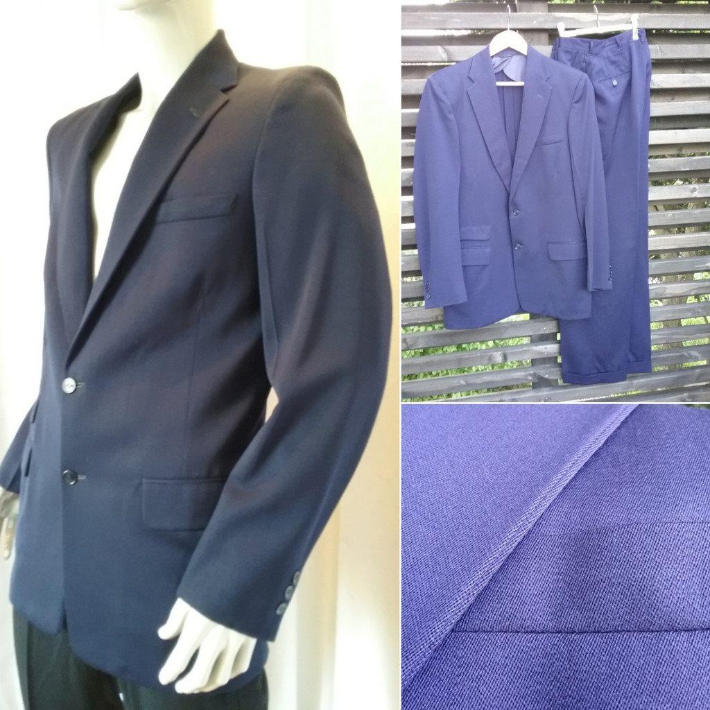 vintage kostym herr