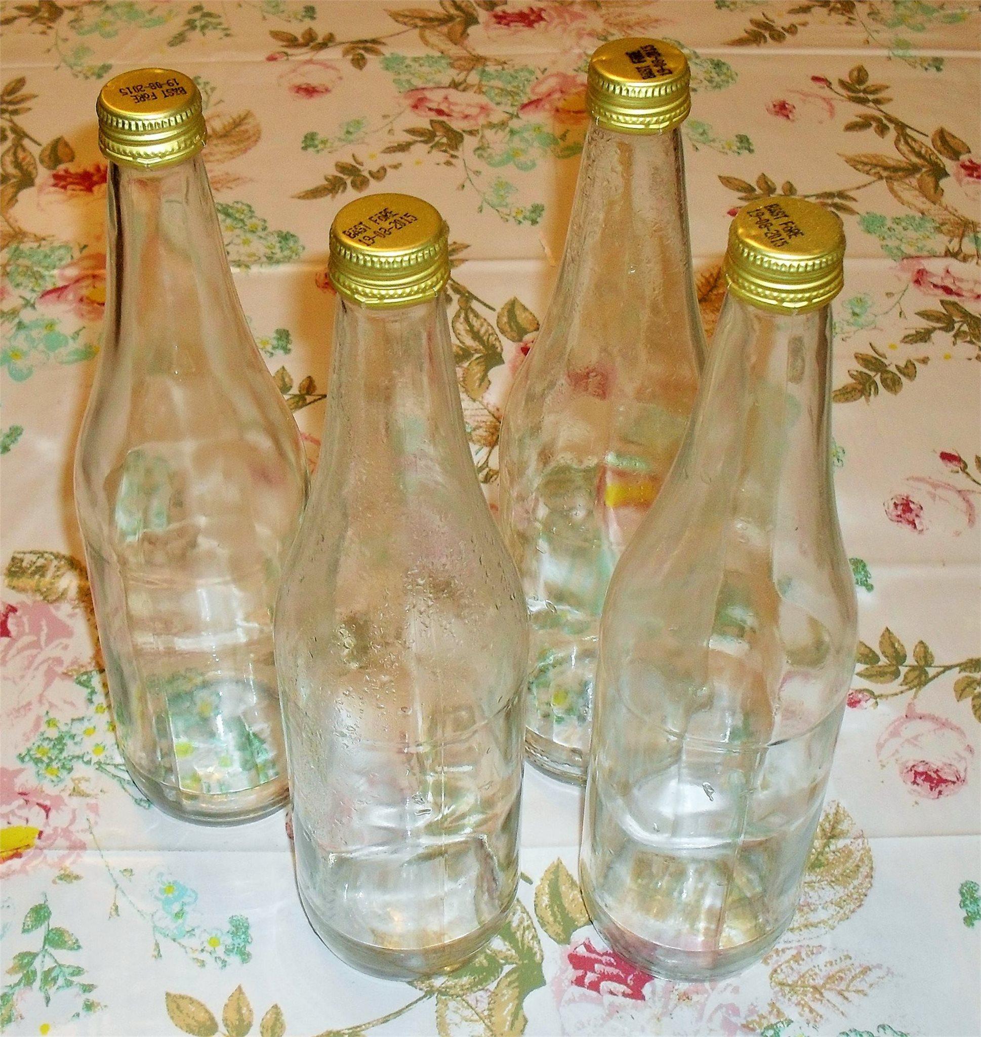 köpa glasflaskor till saft
