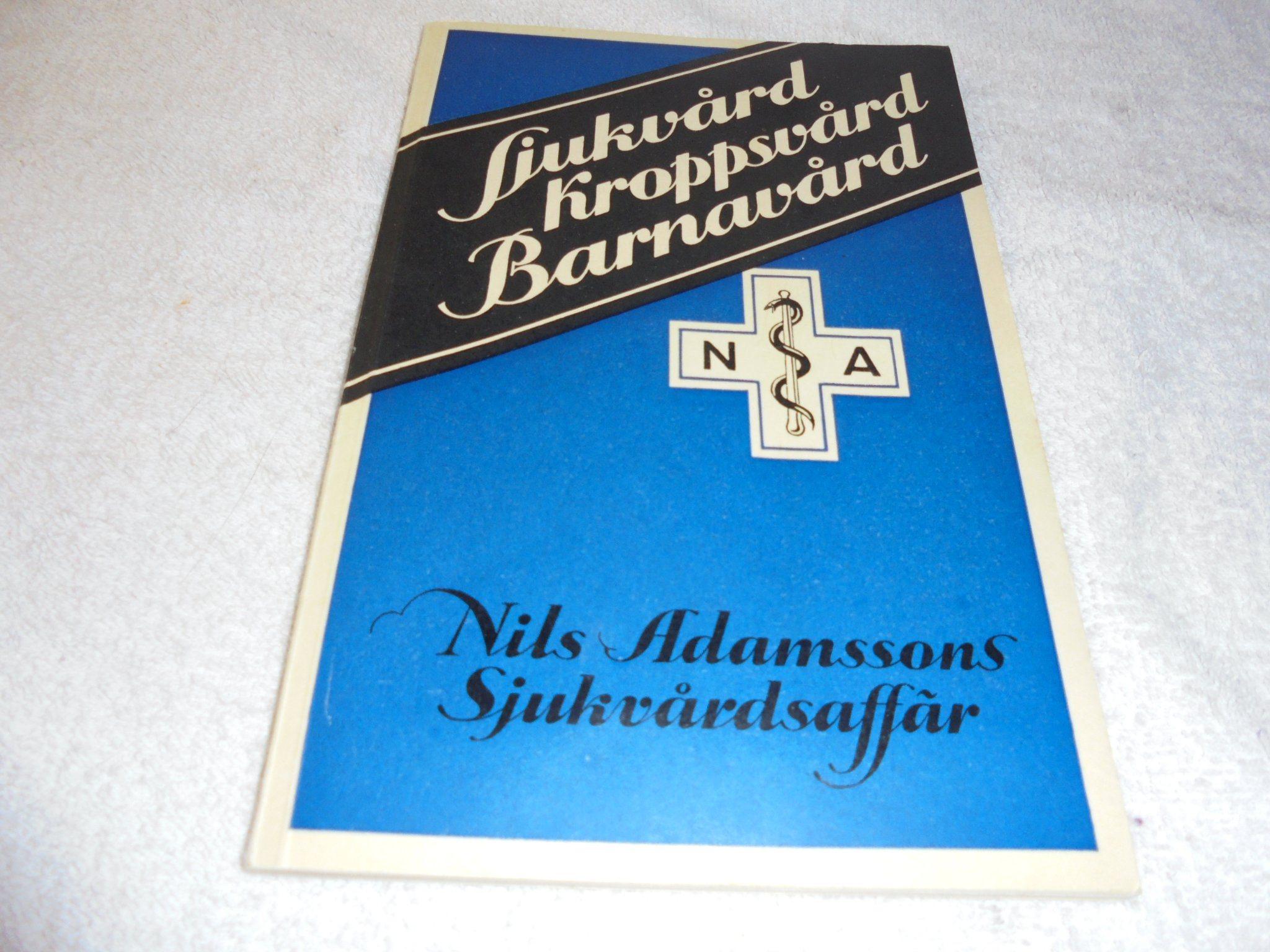 7b32f59c051 Katalog nr . 50 - Nils Adamsson Sjukvårdsaffär.. (343349616) ᐈ Köp ...