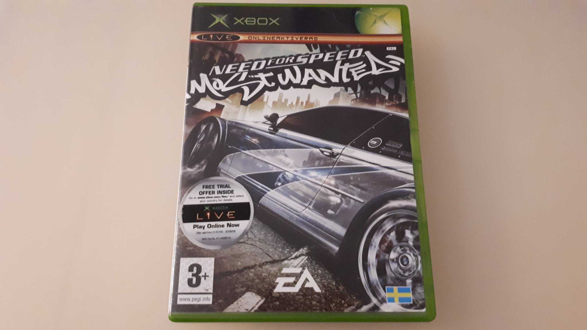 Need for speed most wanted till Xbox (344672786) ᐈ Köp på