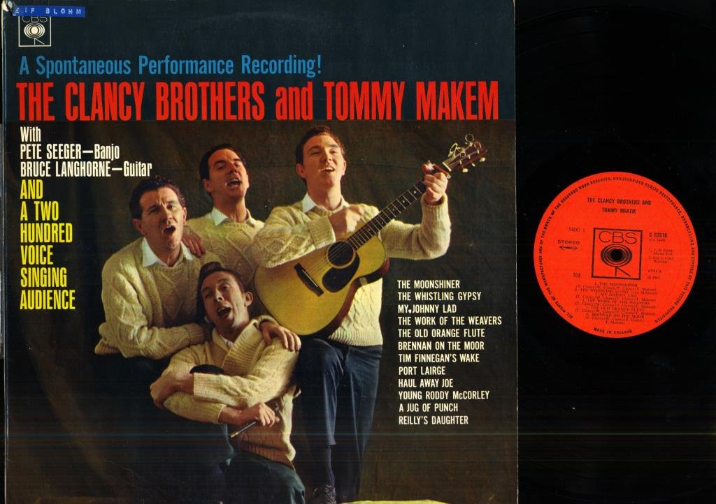 THE CLANCY BROTHERS - AND TOMMY MAKEM