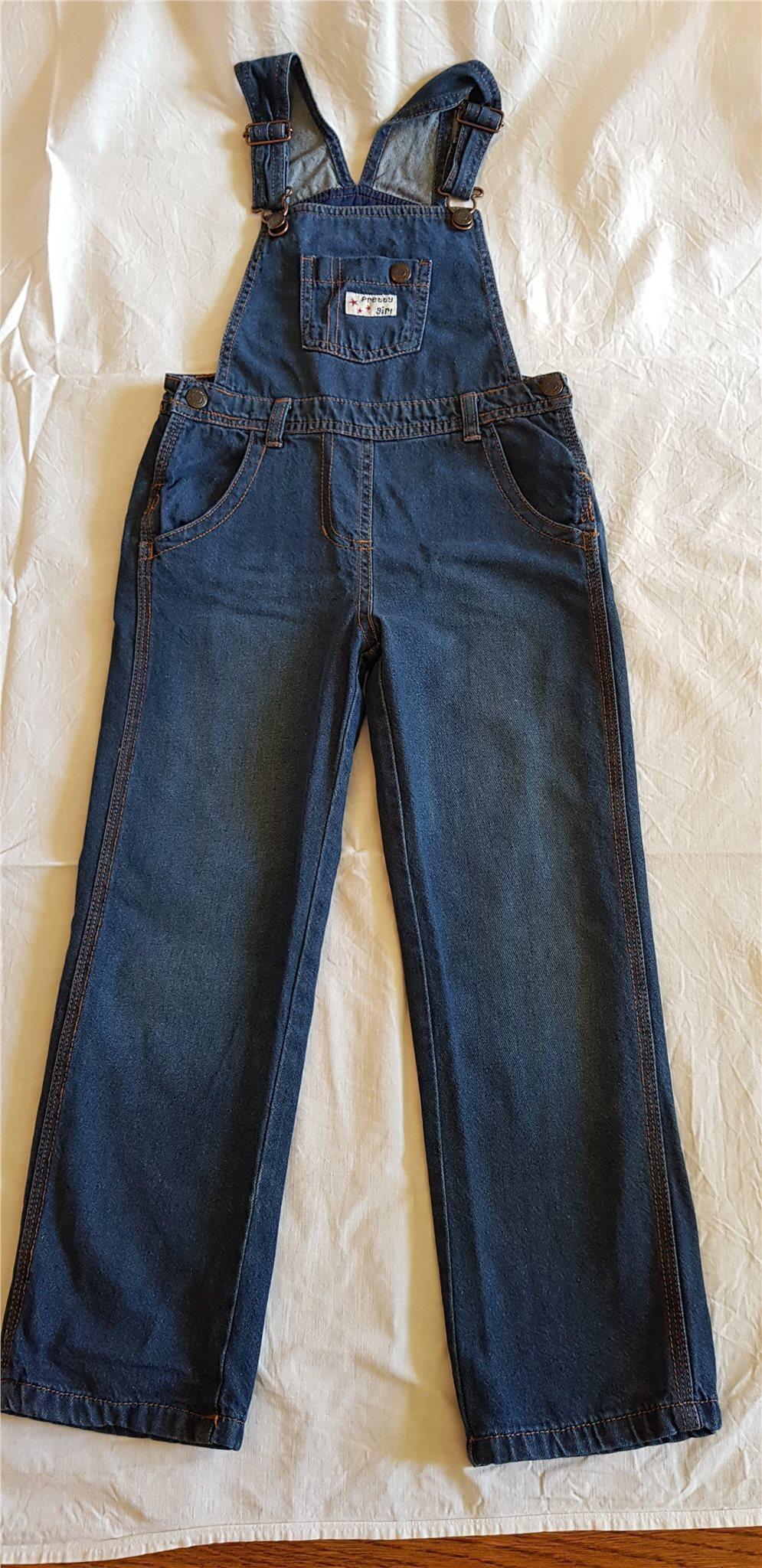 Hängslebyxor Fodrade Jeans Mörkblå Blå LUPILU S.. (330517043) ᐈ Köp ... 5684adb7760fe