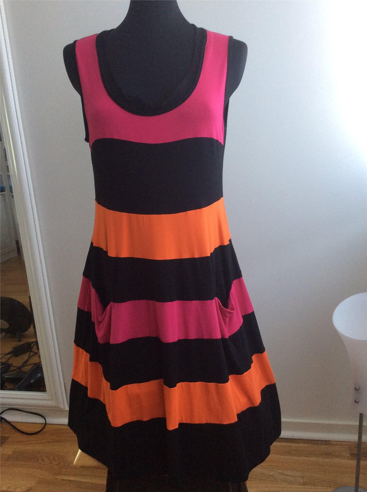 e4daf86ca627 Svart ceris orange färgad klänning från Baldino (339755813) ᐈ Köp ...