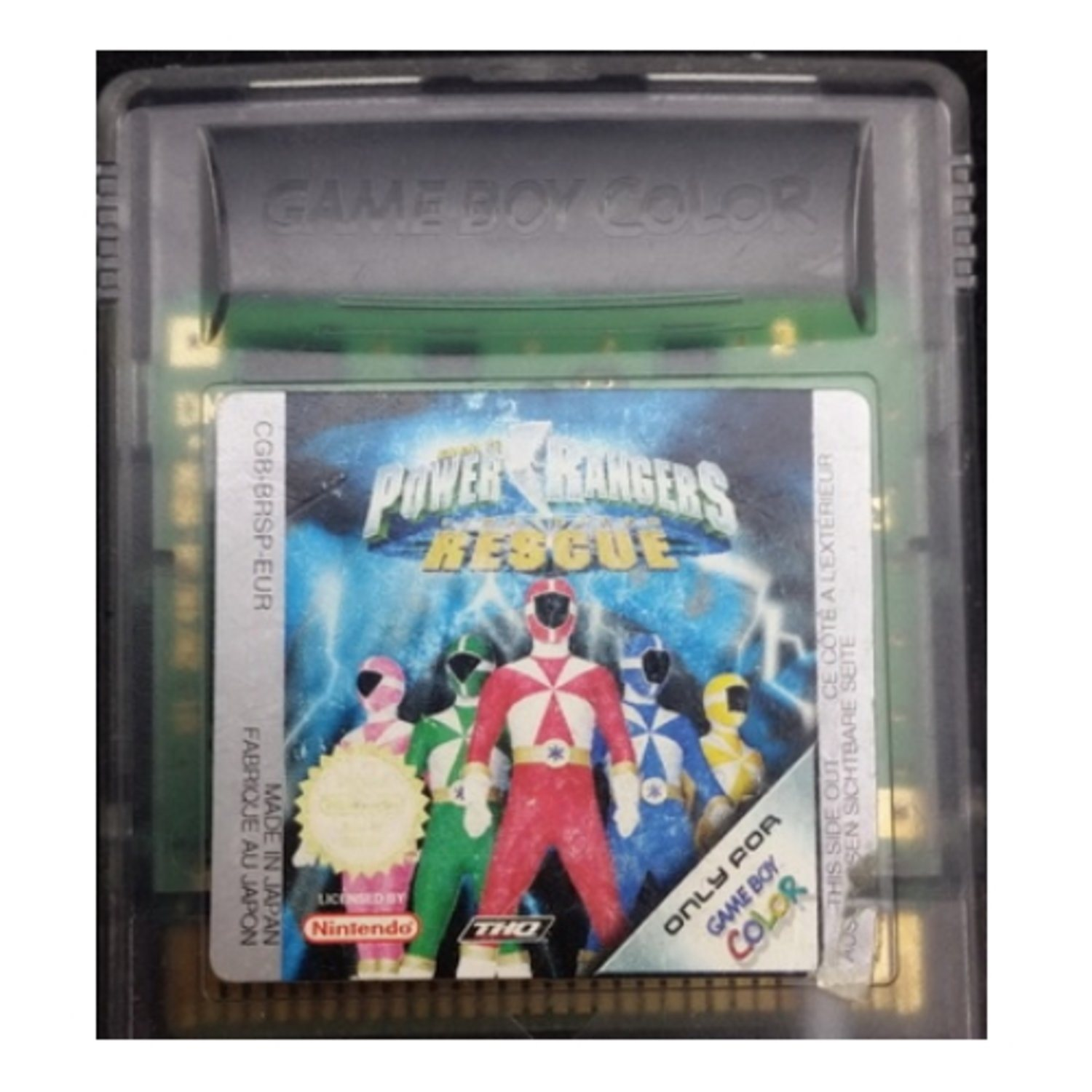 Power Rangers Lightspeed Rescue - Gameboy Color