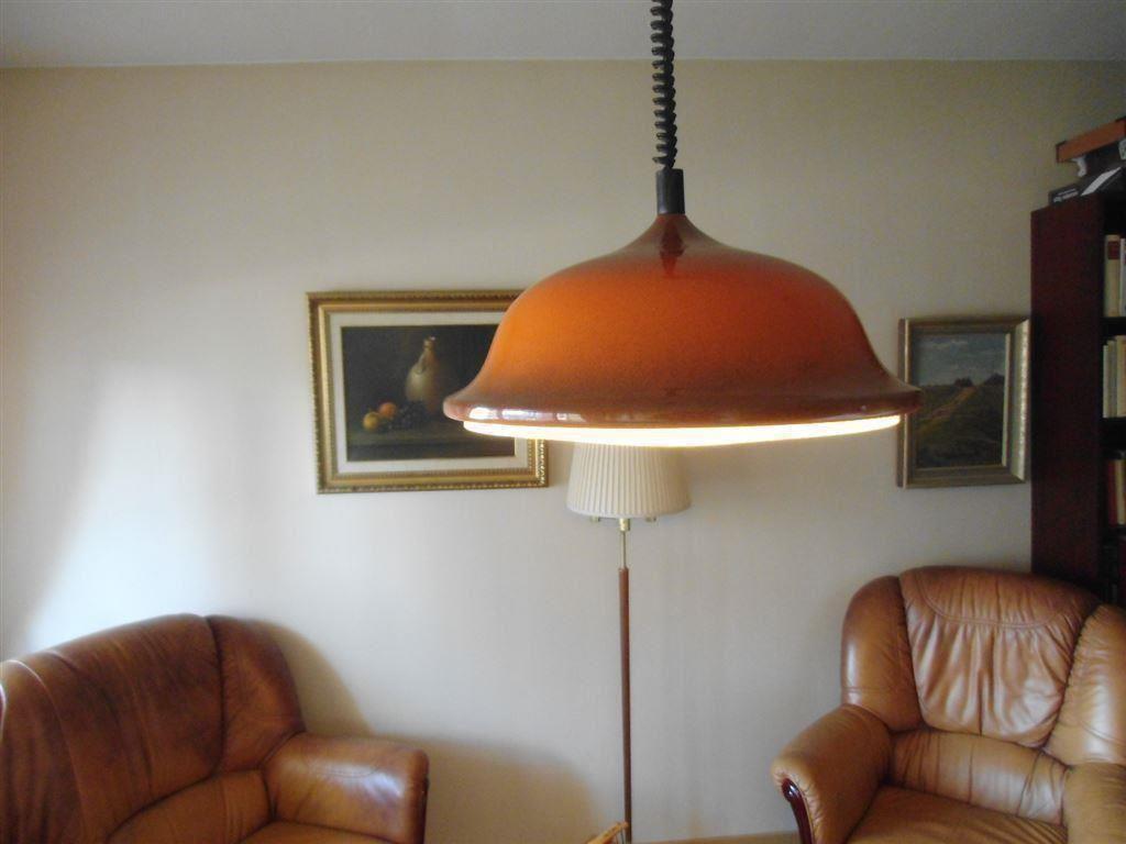 Kökslampa taklampa belid värnamo 70 tal orange på tradera.com