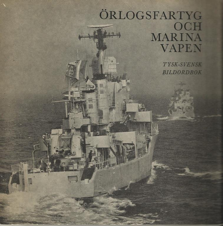Krigshistoria, Örlogsfartyg och marina vapen, Tysk- svensk bildordbok