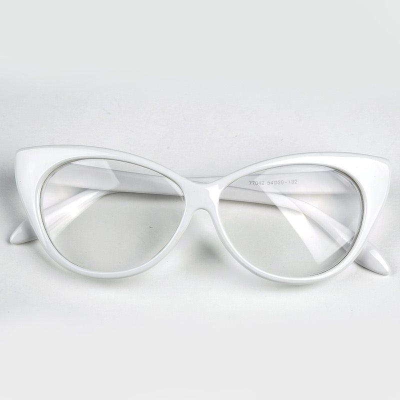 Glasögon Cat Eye Vit Utan Styrka (256464759) ᐈ Webmasters på Tradera 6d0896bb41392