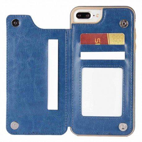 Flipwallet 3-kort Apple iPhone 7+   8.. (304691238) ᐈ CaseOnline på ... 7ab7b2183d0d1
