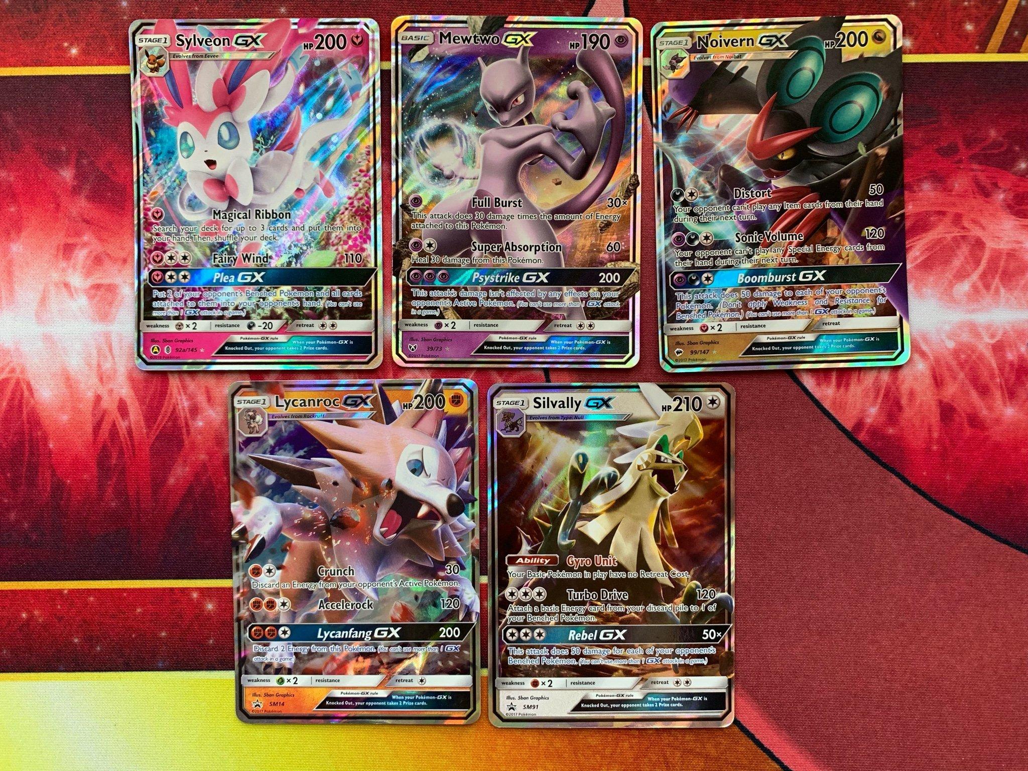 Utforsaljning Av Gx Kort Pokemonkort Pokemon Kort 380505551 ᐈ