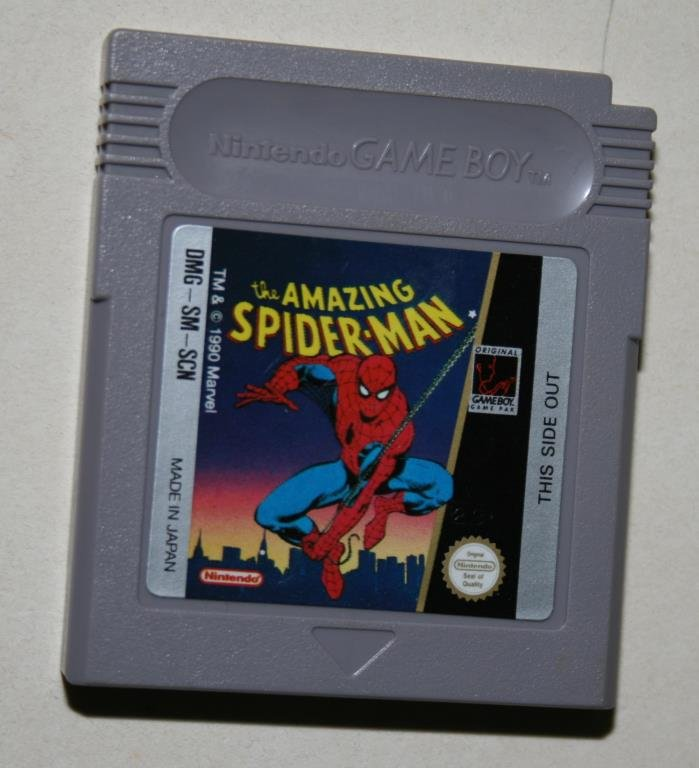 GAMEBOY - THE AMAZING SPIDER-MAN
