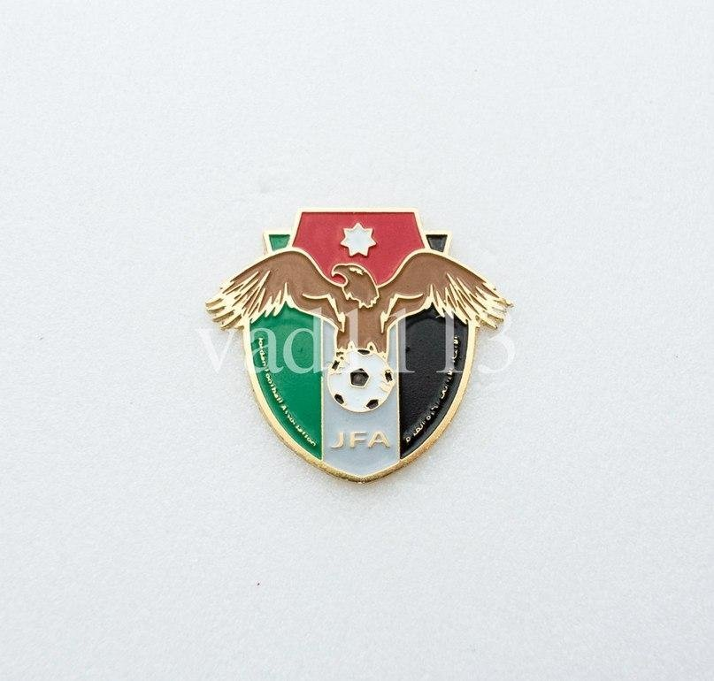 Badge Pin: AFC Asian Football Confederation Federation  - Jordan