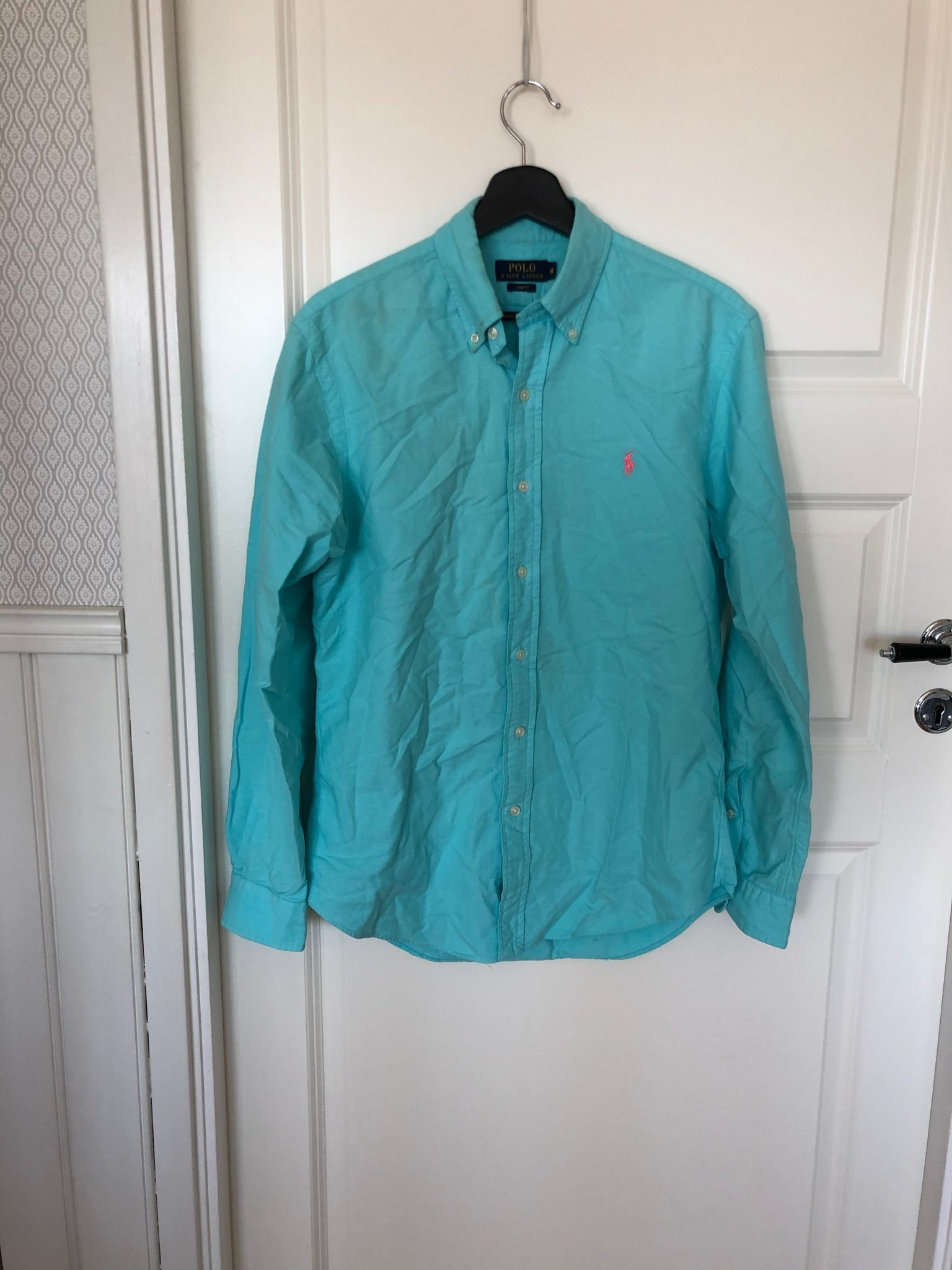 Polo Ralph lauren M slim fit Oxford turkos