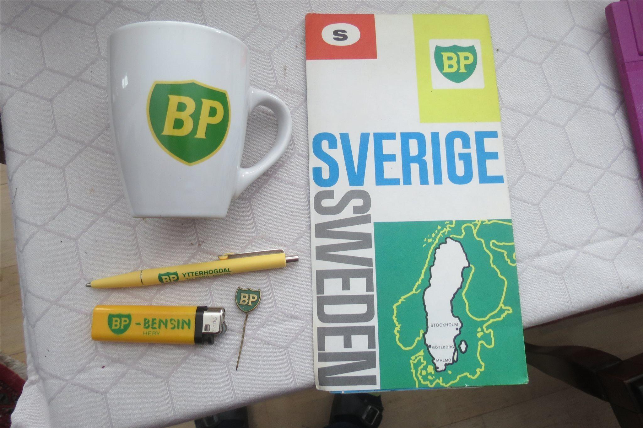 bensin karta BP bensin reklam penna Ytterhogdal, tändare kar.. (317323868) ᐈ  bensin karta