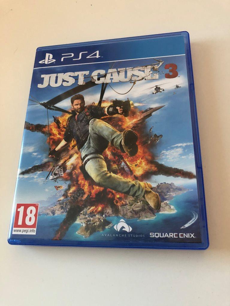 Just Cause 3 Playstation 4 Sven 317953343 Retrogaraget P Sony Ps4 Gold Edition Svenskslt