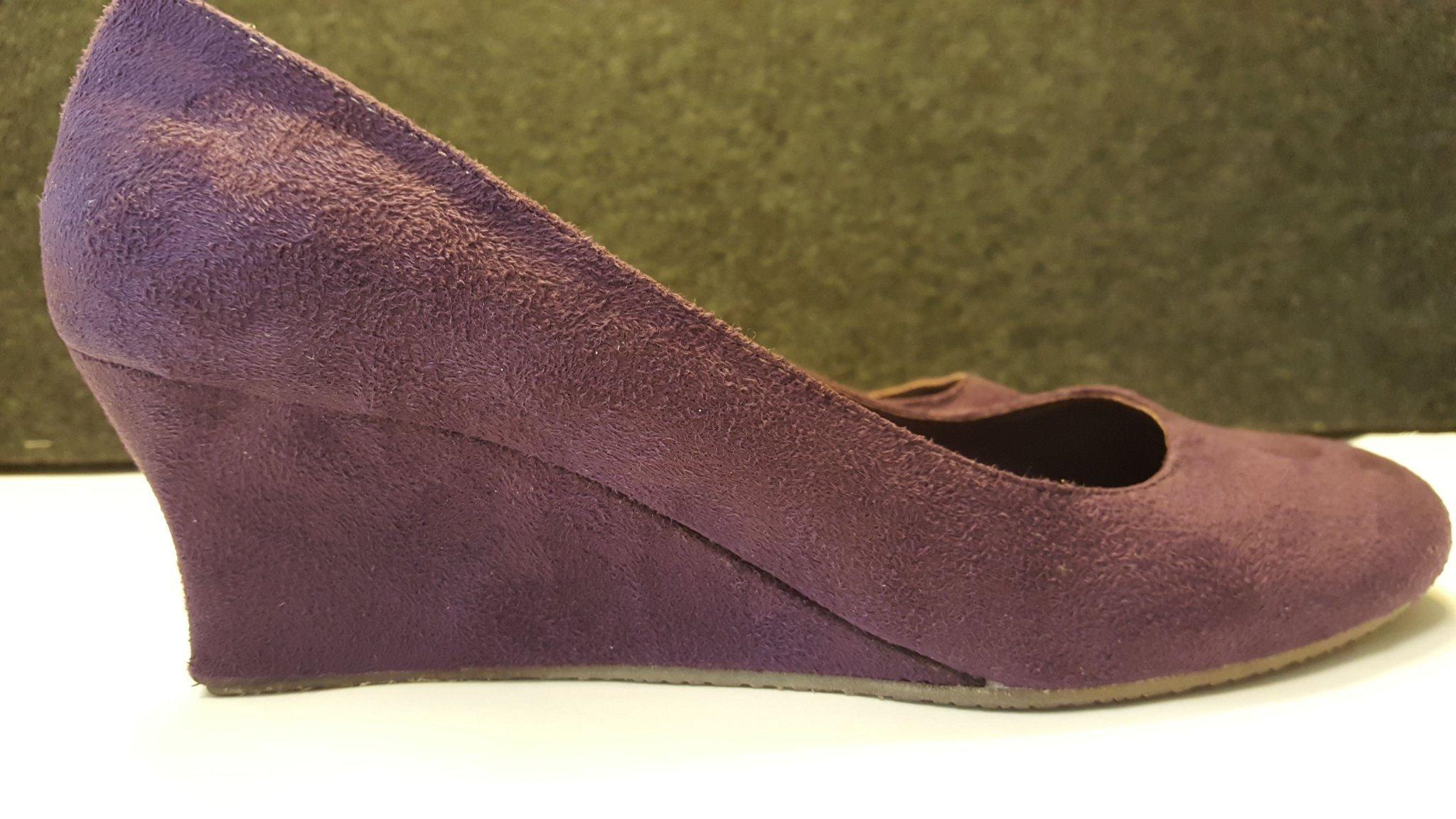 skor med kilklack dam