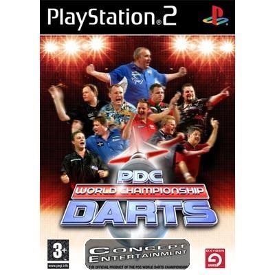 PDC WORLD CHAMPIONSHIP DARTS (komplett) till Sony Playstation 2, PS2