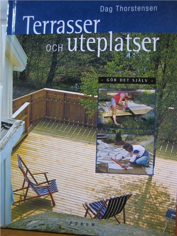 Bok bygga Terrasser och uteplatser i din trädgård, altan på ...