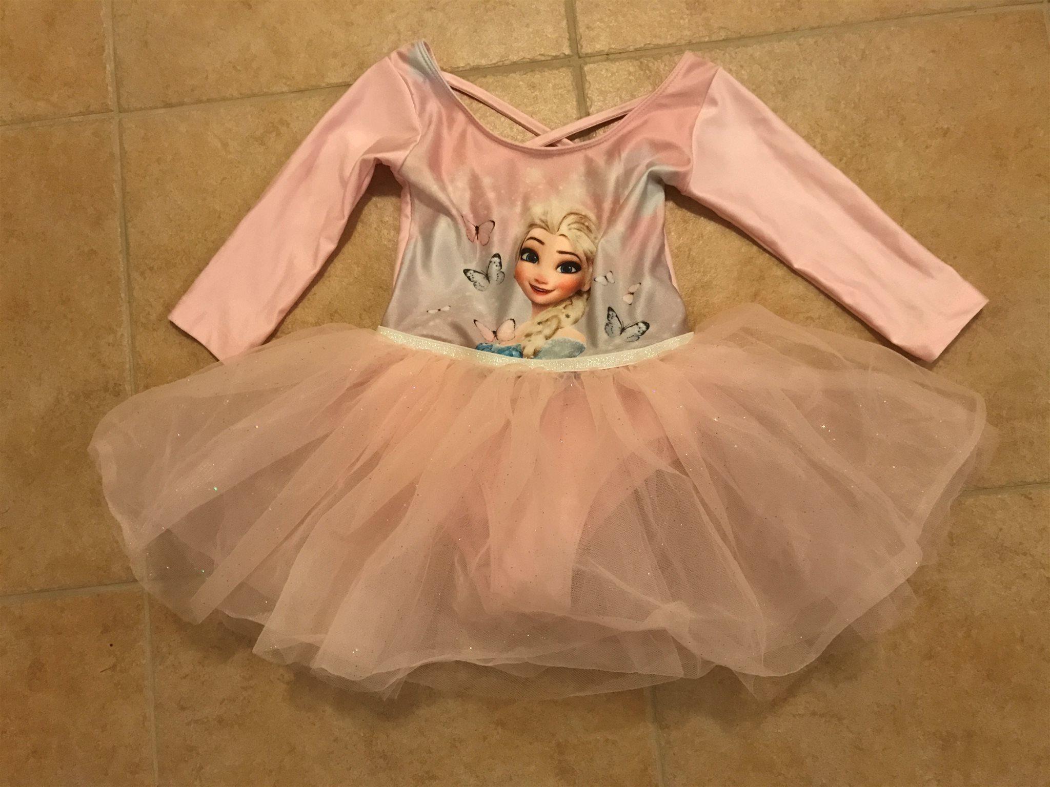 Ballerinadräkt Frozen Elsa H M 98 104  NY  (339496816) ᐈ Köp på Tradera f48633c2df280