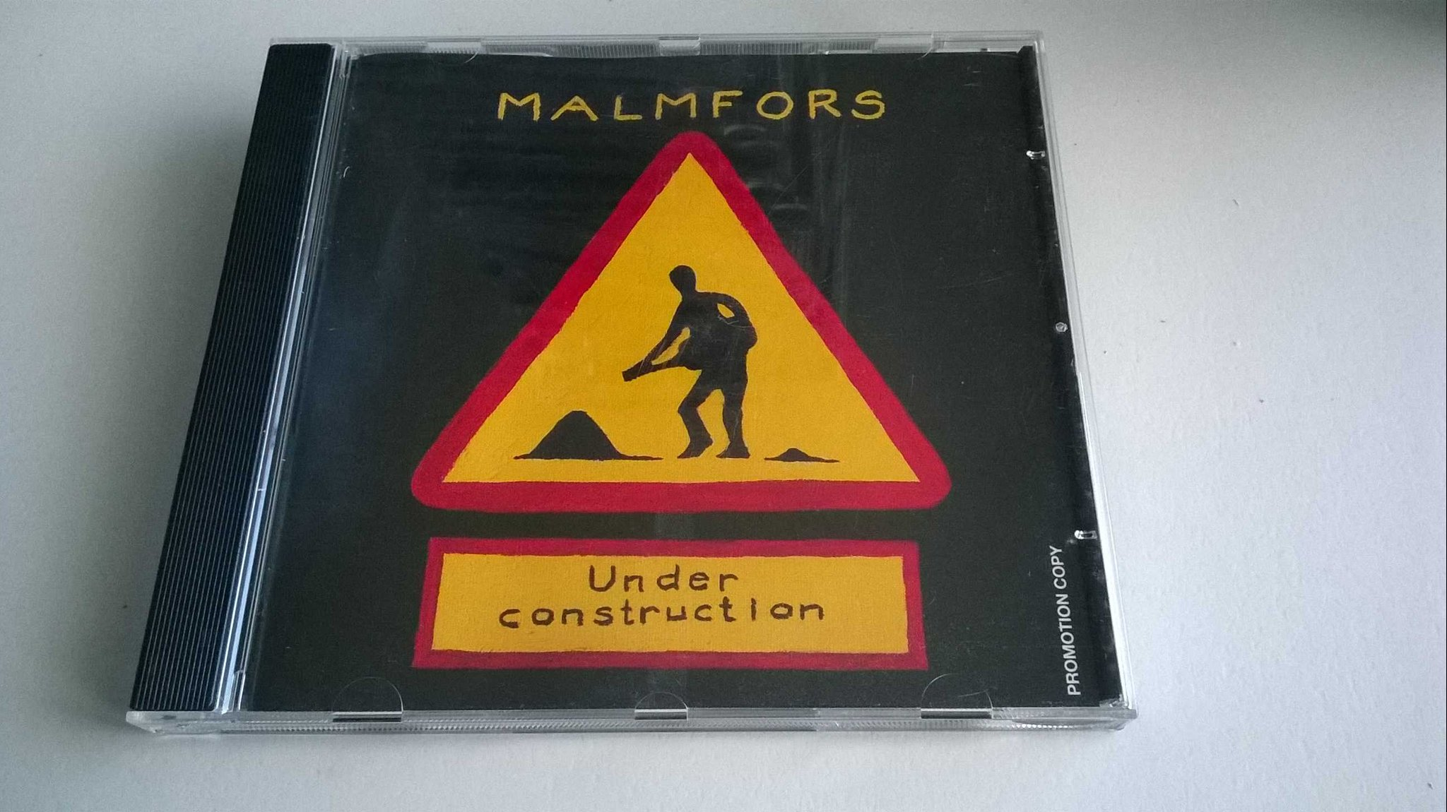 Malmfors - Under construction, CD, Album, Promotion