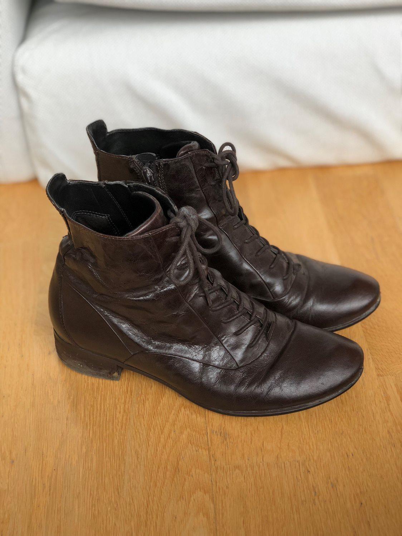 35d56f86ccc Ecco skor höst kängor 36 snörning vintage retro brun skinn Madicken Pippi