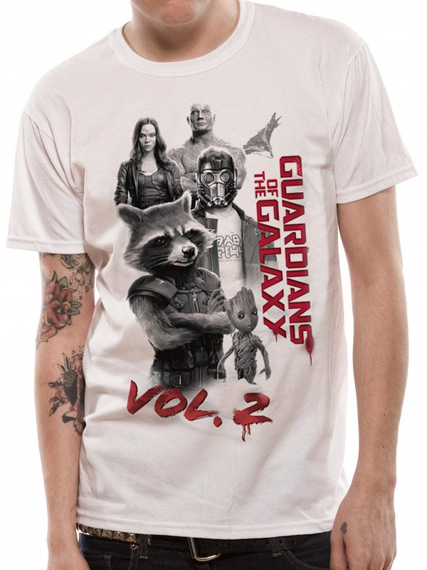 GUARDIANS OF THE GALAXY 2.0 - CHARACTERS (UNISEX)T-Shirt - Large