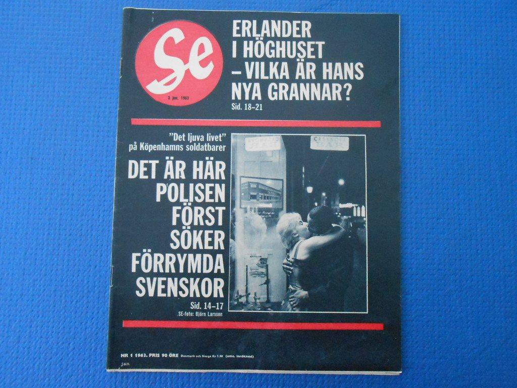 86796d44cf1f SE nr 1 1963 Bagarmossen Jerry Williams Fyrväktarbacken Marieberg Meta  Rylander ...