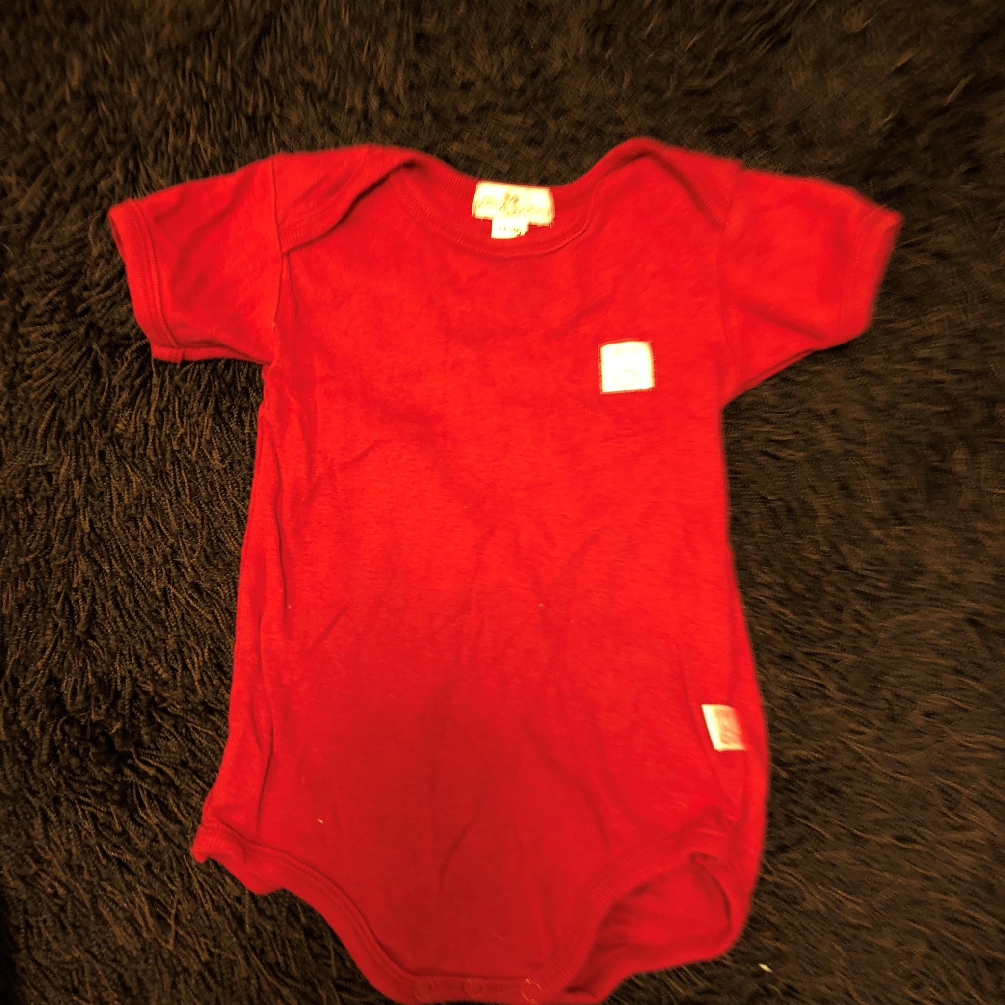 röd body baby