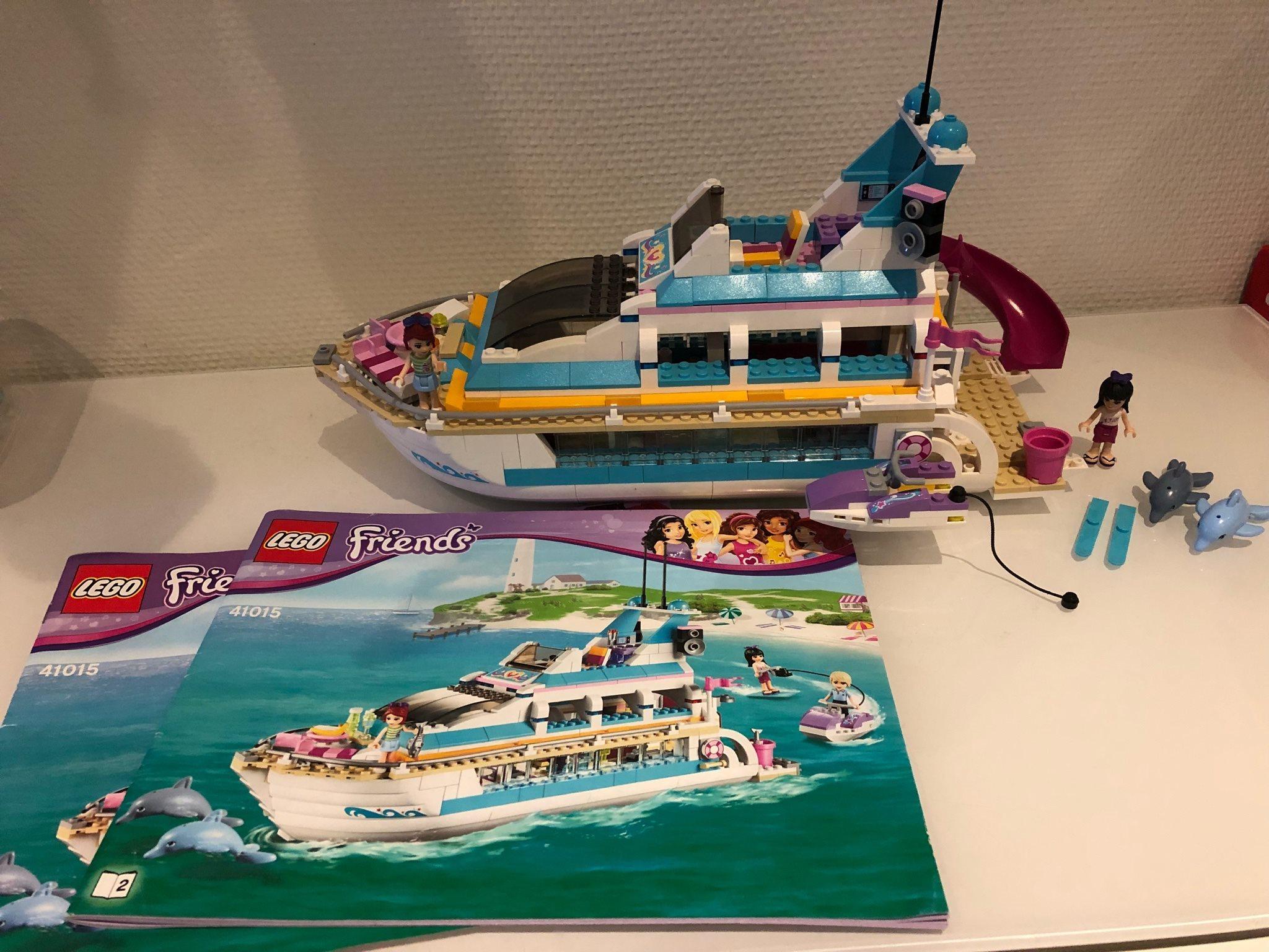 Groovy Lego Friends Kryssningsfartyg 41015 (båt) (328970159) ᐈ Köp på MR-96