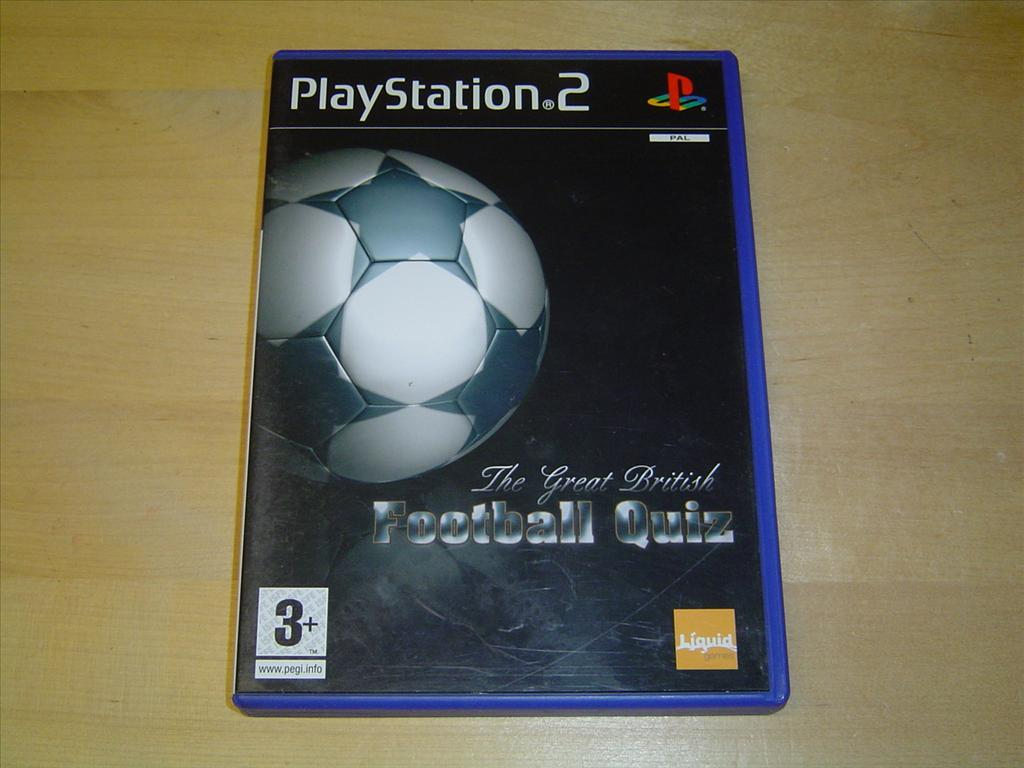 THE GREAT BRITISH FOOTBALL QUIZ TILL PLAYSTATION 2 PS2 NYTT*