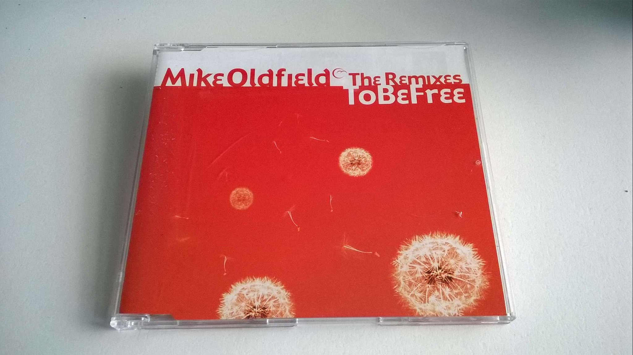 Mike Oldfield - To Be Free, The Remixes, CD, Promo