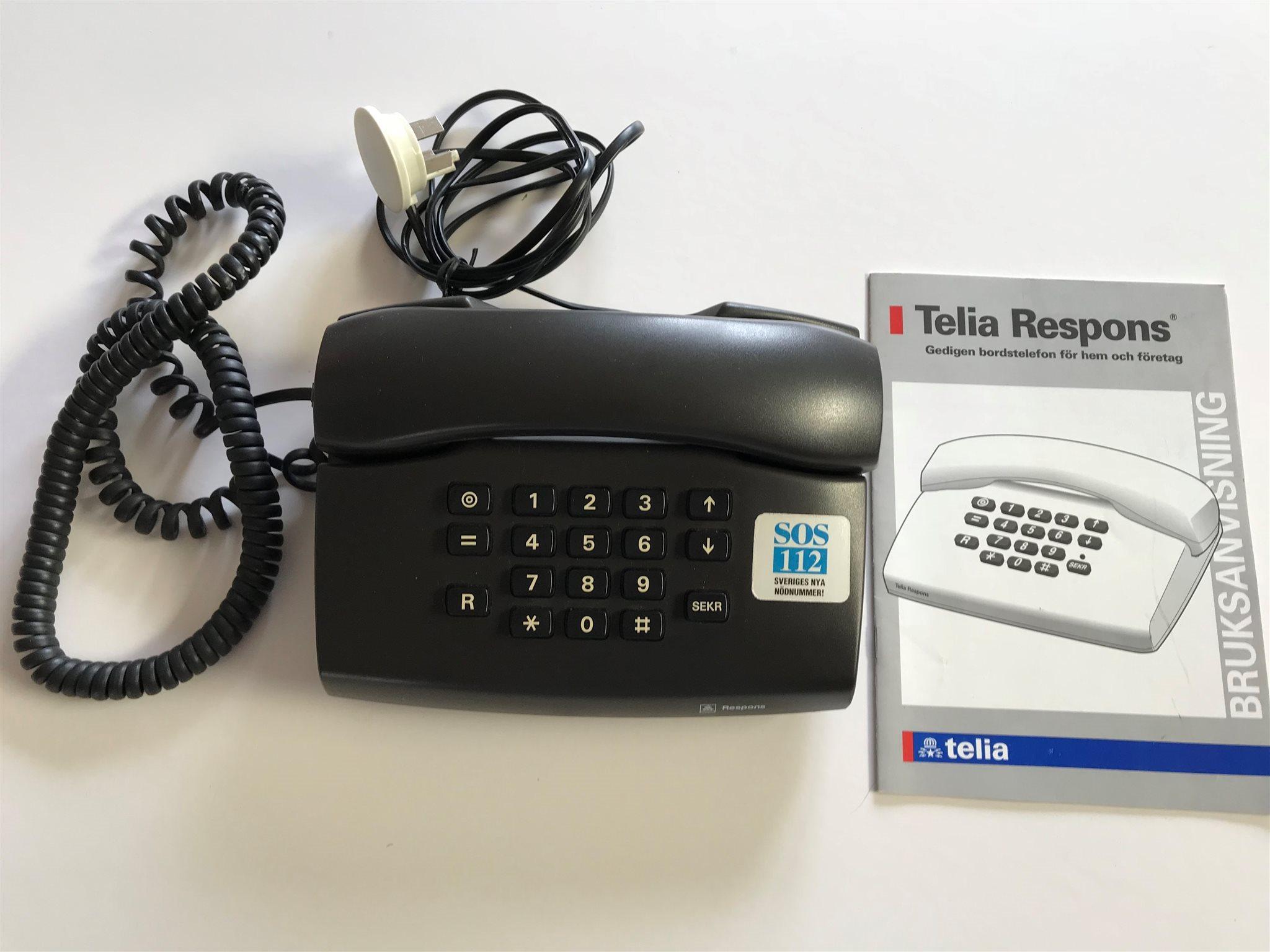 telia telefoner med sladd