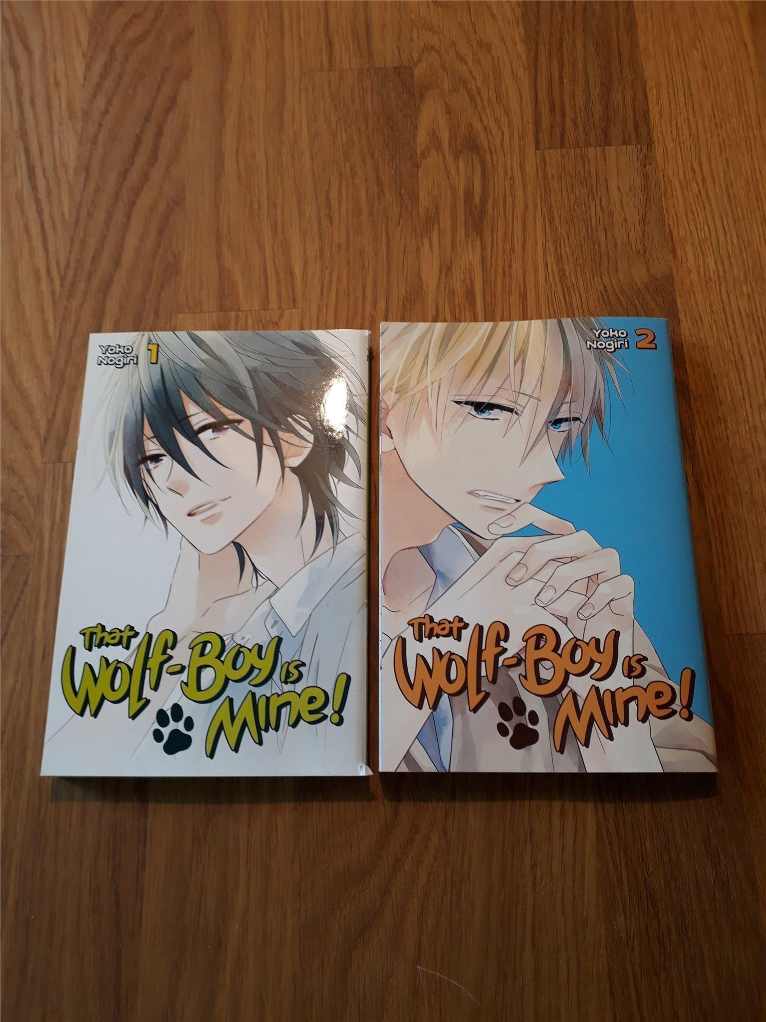 That wolf-boy is mine! vol 1-2 av Yoko Nogiri (Manga